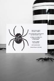 How To Make 3d Halloween Spider Invitations The Tomkat Studio Blog