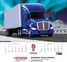 kw trucks 2016 kenworth truck calendar features a dozen stunning images