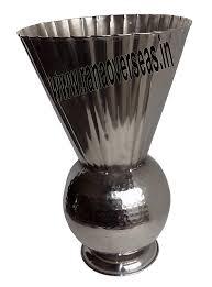 Aluminium Vases Aluminium Flower Vase U2013 Rana Overseas Chafing Dishes Home