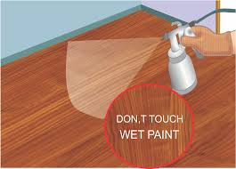 Wood Floor Paint by How To Paint Hardwood Floors 8 Steps With Pictures Wikihow