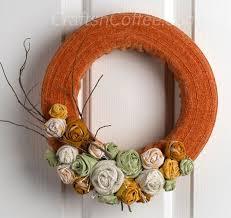 styrofoam wreath this cozy fall wreath wears a sweater sleeve burlap roses
