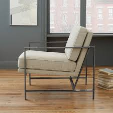 West Elm Lounge Chair A Fashion Forward Office Makeover With Wet Seal Front Main