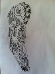 tribal sketch tribal sleeve sketches for