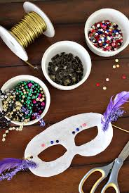 diy mardi gras masks how to make your mardi gras party rock with a diy mask bar the