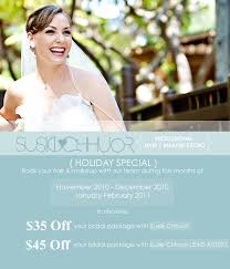 bridal makeup packages promotion susie chhuor hair makeup team los angeles wedding