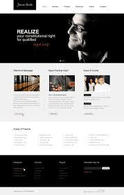 lawyer website template 40125