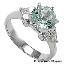 coloured engagement rings images Engagement wedding rings jpg