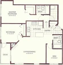 1300 sq ft floor plans floor plan for affordable 1 100 sf house