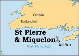 map of st and miquelon st miquelon operation world