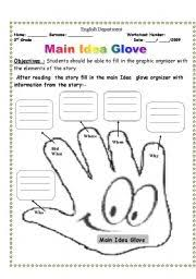 collection of solutions main idea worksheets also sample