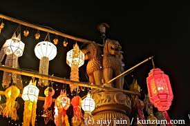 Festival Of Lights Thailand Postcards From Thailand 3 A Festival Of Lanterns Lights And
