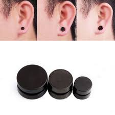 magnetic stud earrings 10mm 1pcs magnetic stud earrings for men stainless steel magnet