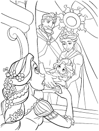 printable 34 princess coloring pages rapunzel 3402 disney