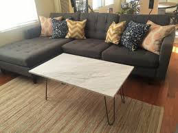 Marble Coffee Table Diy Upcycled Marble Coffee Table Diy Inspired