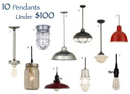 Barn Pendant Light Pendant Options That Wont The Bank
