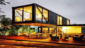 modern cabin container home designs youtube
