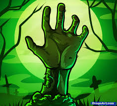 Halloween Monster Hands How To Draw A Zombie Hand Step By Step Zombies Monsters Free