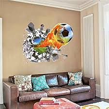 Kids Room Wall Decor Stickers by 36 Soccer Ball Wall Decor Art Stickers Decals Vinyls Amazon Com