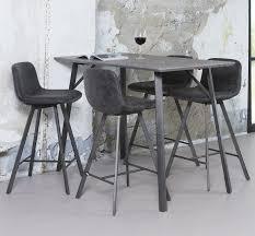 bartisch küche bistrotisch bartisch küche hochtisch beton dekor 140x70