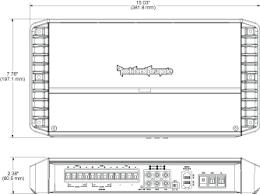 p1000x5 punch 1 000 watt class bd 5 channel amplifier rockford