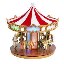 christmas carousel shimmer pony musical christmas carousel christmas tree shops