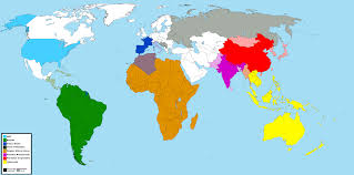 Map Of The Earth I Made A Quick Map Of The New Factions From Beyond Earth Civ