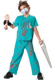 halloween scrubs kids dr n sane costume escapade uk