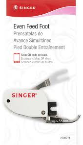 amazon com singer even feed walking presser foot for quilting or