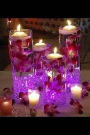 Submersible Led Light Centerpieces by Bowls Of Light Light Gels Bowls And Purple