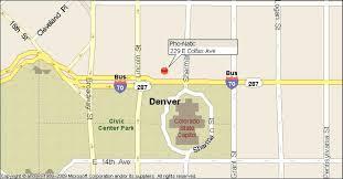 Map Denver Colorado by Phodenver Com Denver Pho Natic Map And Directionis