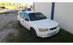 year toyota corolla toyota corolla ae110 year 96 cars kitts and nevis