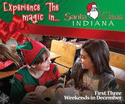 santa claus christmas celebration santa claus indiana