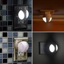 automatic led night light kohree automatic led night light plug in wall light with dusk to