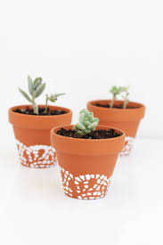painted flower pot ideas 150 cute interior and doily painted