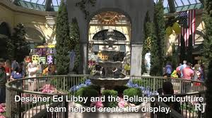 bellagio debuts capri inspired garden display youtube