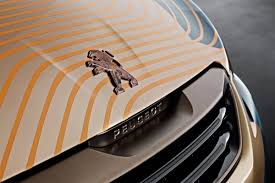 peugeot lion peugeot tattoos a lion on the 108 for the geneva motor show