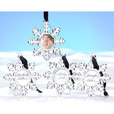 kate aspen snowflake place card holder ornament set