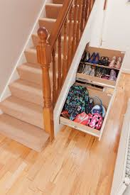 awesome under stairs storage for better space arrangements ruchi
