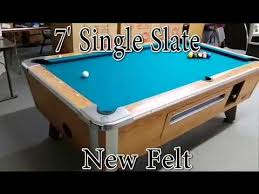 Valley Pool Table For Sale Valley Cougar Pool Tables Coin Op For Your Home Youtube