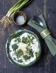 recette cuisine thailandaise traditionnelle soupe tom kha kaï pour 4 personnes recettes à table