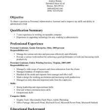 Executive Assistant Resume Template Administrative Assistant Resume Templates U2013 Thebridgesummit Co