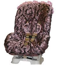 toddler car bella maya pink champagne toddler car seat cover