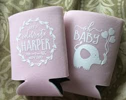 baby shower koozies baby shower koozies etsy