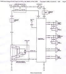 Wiring Diagram For 2000 Honda Civic Ex Wiring Diagram 1998 Honda Civic Ex Radio Winkl
