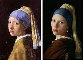 girl with the pearl earring painting girl with a pearl earring differences between the novel and the