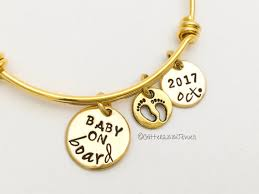 expectant gifts expecting gift gifts expectant gold bracelet new