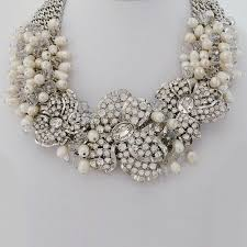 crystal wedding necklace images Bridal jewelry sets be equipped with necklace and earrings is an jpg