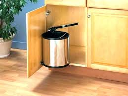 trash cans for kitchen cabinets kitchen cabinet trash can hardware kitchen trash can storage and