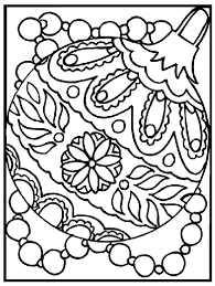 ornament coloring page crayola