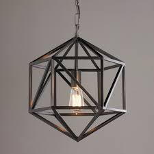 prism cage pendant light shades of light